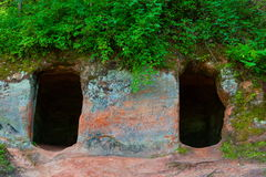 caverne Immagini Stock