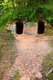 caverne Fotografia Stock Libera da Diritti
