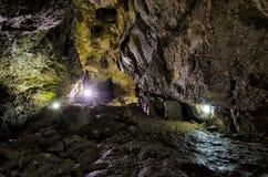 Caverne Bacho Kiro Photos libres de droits