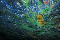 Caverne bleue image libre de droits