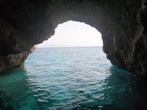 Caverne blu Fotografia Stock Libera da Diritti
