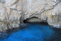 Caverne blu di Zacinto Immagine Stock Libera da Diritti