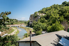 Caverne célèbre d'incegiz dans Catalca, Istanbul, Turquie Photographie stock