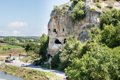 Caverne célèbre d'incegiz dans Catalca, Istanbul, Turquie Photos stock