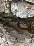 Caverne cachée Images libres de droits