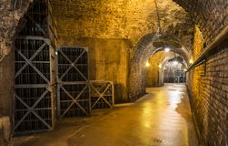 Caverne Castellane Francia Immagine Stock Libera da Diritti