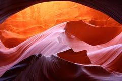 Caverne d'antilope, Arizona images libres de droits
