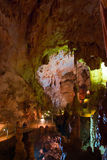 Caverne d'Emine-bair-hosar (mammouth), Crimée, R-U Photos libres de droits