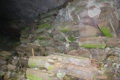 Caverne d'enterrement images libres de droits
