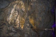 Caverne d'Uhlovitsa Images libres de droits