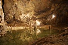 Caverne de Belianska Photo stock