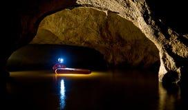Caverne de Buhui Images libres de droits