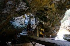 Caverne de chaux Image libre de droits