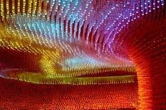 Caverne de couleurs Photographie stock libre de droits