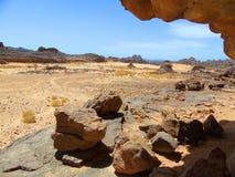 Caverne de désert Photos libres de droits