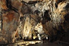 Caverne de Domica Images libres de droits