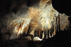 Caverne de Domica Photos libres de droits