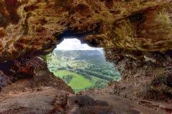 Caverne de fenêtre - Porto Rico Photo libre de droits