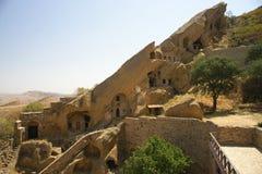 Caverne de Gareja de davier images stock