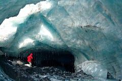 Caverne de glace Photo stock