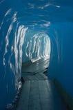 Caverne de glace Photos libres de droits
