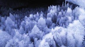 Caverne de glace Images libres de droits