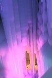 Caverne de glace de dix-millièmes Photo libre de droits