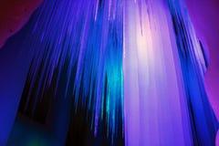 Caverne de glace de dix-millièmes Photos libres de droits