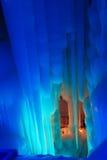 Caverne de glace de dix-millièmes Photos stock