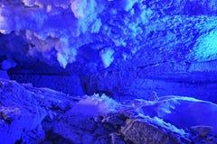 Caverne de glace de Kungur Perm Krai Russie Photos libres de droits
