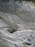 Caverne de glacier de Shkhelda Photo libre de droits