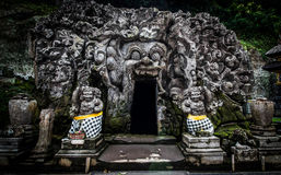 Caverne de Goa Gajah Photos stock