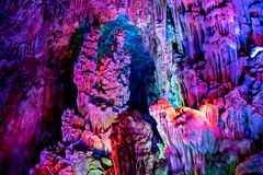 Caverne de Guilin Photographie stock