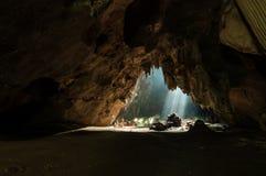 Caverne de Jompon Image libre de droits
