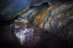 Caverne de jument de Coiba en Roumanie Images libres de droits