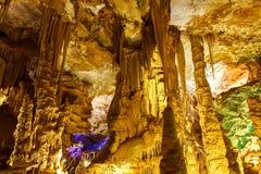 Caverne de Karaca Photo libre de droits