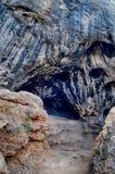 Caverne de Karain. Paléolithique Images libres de droits