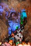 Caverne de Karst à Guilin, porcelaine Photos stock