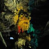 Caverne de Karst en Géorgie occidentale Image libre de droits