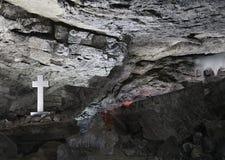 Caverne de Kungurskaya Images libres de droits