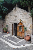 Caverne de l'apôtre Paul Image libre de droits