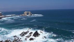 Caverne de l'océan pacifique Image libre de droits
