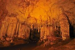 Caverne de Lod chez Maehongson Photos stock