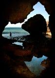 Caverne de Lubang Mindoro Photos libres de droits