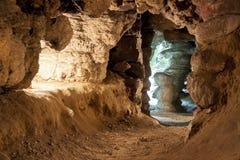 Caverne de Mechowo - Pologne Photos stock