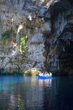 Caverne de Melissani images libres de droits
