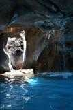 Caverne de mer à la ressource tropicale Images stock