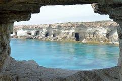 Caverne de mer Photo libre de droits