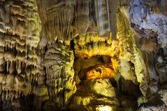 Caverne de paradis, site de patrimoine mondial de l'UNESCO images libres de droits