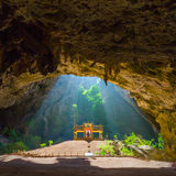 Caverne de Phraya Nakhon images libres de droits